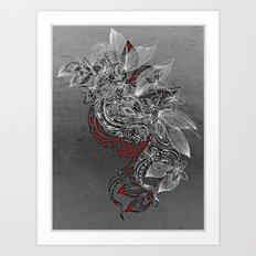 Earth Dance Art Print