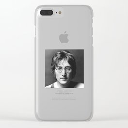 You may say I'm a Dreamer Clear iPhone Case