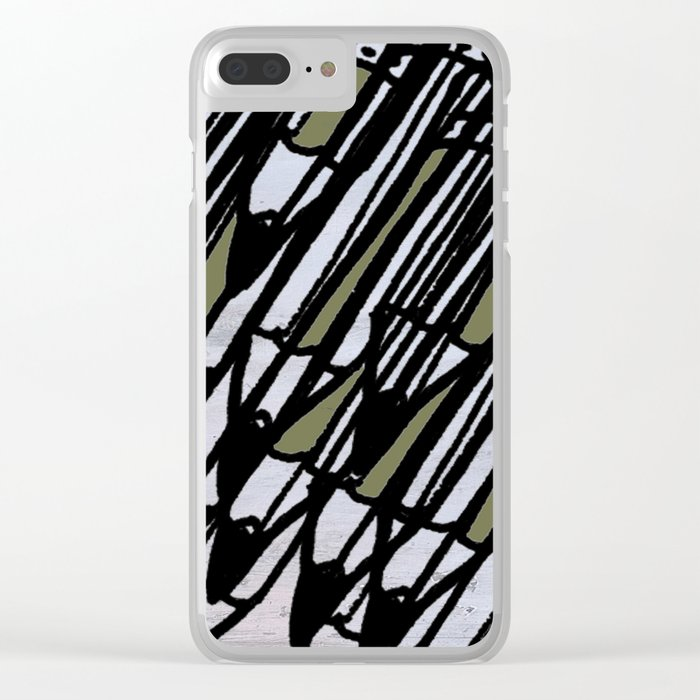Pencils Clear iPhone Case