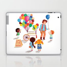 Balloon Stand Laptop & iPad Skin