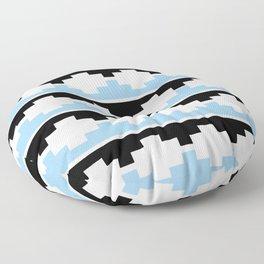 Heraldic – embattled grady- Coupé pigeonné 2 Floor Pillow
