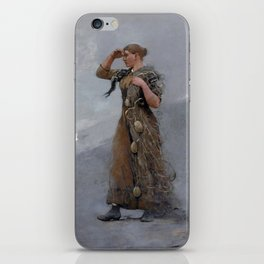 The Fisher Girl,  Winslow Homer iPhone Skin