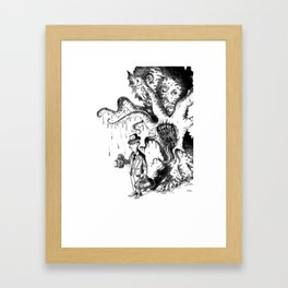 Mythos Investigator Framed Art Print