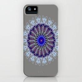 Mandala #102, Taupe iPhone Case