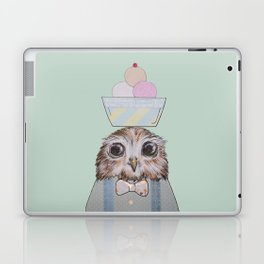 The Ice-Cream Owl Laptop & iPad Skin