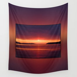 Colorful Sunset Wall Tapestry