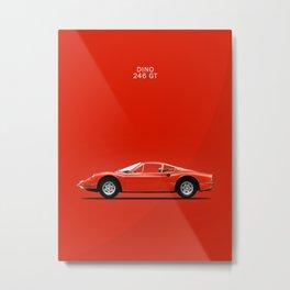 The Dino 246 GT Metal Print