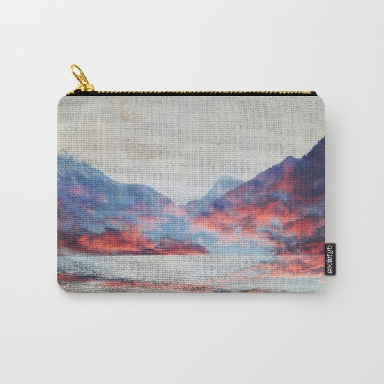 Fall Mountains Carry-All Pouch