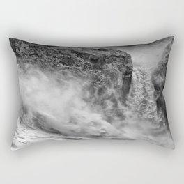 Power in the falls Rectangular Pillow