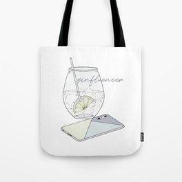 Ginfluencer Tote Bag