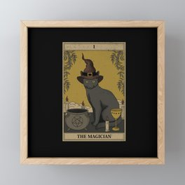 The Magician Framed Mini Art Print
