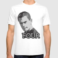 Divergent: Four Mens Fitted Tee White MEDIUM