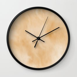 Pastel Gold Marble Wall Clock