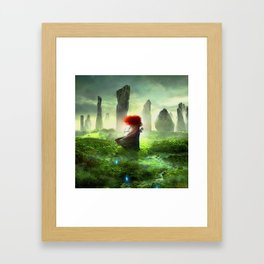 Merida The Brave - Portrait Merida Walking Framed Art Print