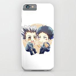 Haikyuu!! - Bokuaka iPhone Case