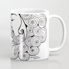 Spiral Hair Mug