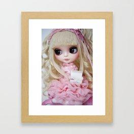 Erregiro Blythe Custom Doll Japanese Lolita Girl Kumiko Framed Art Print