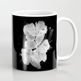 geranium in bw Coffee Mug