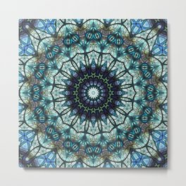 pattern abstract background art Metal Print