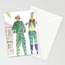 Moko Jumbies Stationery Cards