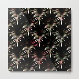 Tropicalia - Leaves Pattern Metal Print