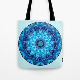 Mandalas from the Heart of Surrender 5 Tote Bag