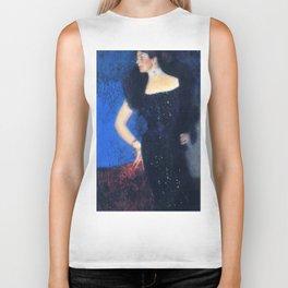"""Gustav Klimt """"Portrait of Rose von Rosthorn-Friedmann"""" Biker Tank"""