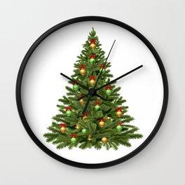 Christmas tree #society6 #decor #buyart Wall Clock