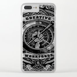 creative work force Clear iPhone Case