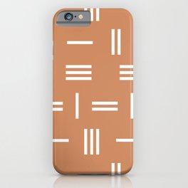 Abstraction_LINE_LANDSCAPE_PATTERN_POP_ART_Minimalism_111A iPhone Case