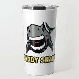 Daddy shark Travel Mug