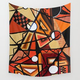 Geometric Composition Wall Tapestry