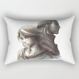 The Witcher 3 - Ciri / Geralt Artwork Rectangular Pillow