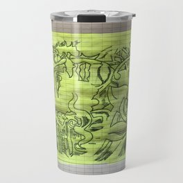 Tattoo tekening in eer of bhoedha Travel Mug