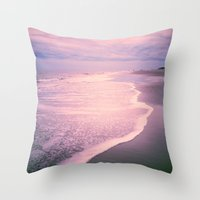 calm Throw Pillows featuring Calm by Olivia Joy StClaire