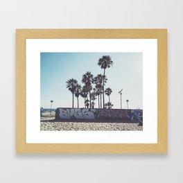 Palms x Walls Framed Art Print