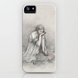 The Grey Wolf iPhone Case