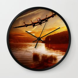 Fading Light Wall Clock