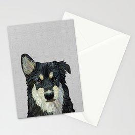 Bjorn - Malamute Samoyed Husky Mix Stationery Cards