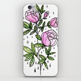 blooming magic iPhone Skin