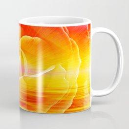Sunset Rose Abstract Coffee Mug