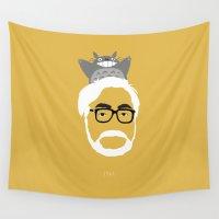 miyazaki Wall Tapestries featuring Miyazaki, 1941 by Jarvis Glasses