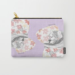 Would you be my sleepy bear? #3 Carry-All Pouch