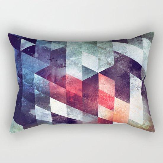 crykkd glyry Rectangular Pillow