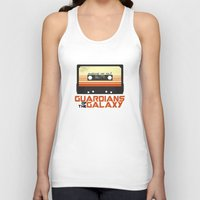 guardians of the galaxy Tank Tops featuring Guardians Of The Galaxy by Hitsville