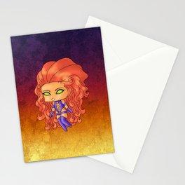 Chibi Starfire Stationery Cards