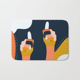 Thumbs Up! Bath Mat
