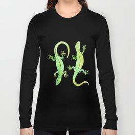 Gecko Lizard Long Sleeve T-shirt