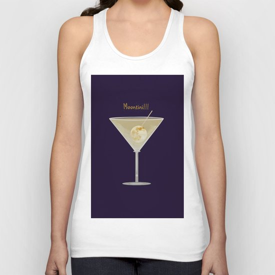 Time For A Moontini! Unisex Tank Top