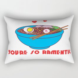Romantic Ramentic, Perfect gift for Him or Her on Valentine's Day Rectangular Pillow